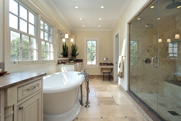 Las Vegas Plumbing. Luxury Master Bathroom Renovation