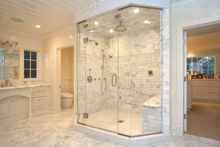 Bathroom Remodel with Rain Shower
